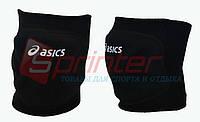 Наколенники волейбольные, ASICS. Черные. А-990