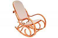 Кресло-качалка светлое (ткань)
