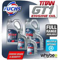 Моторное масло FUCHS TITAN GT1 0W-30 (4л.) для двигателей PEUGEOT, CITROEN современнейшего поколения