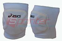 Наколенники волейбольные, ASICS. Белые. А-990