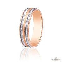 Эдем Золотое обручальное кольцо коа012