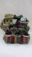 Фонтан настільний декоративний «Будиночок у лісі» розмір 25*28*18