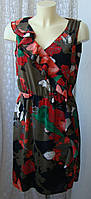 Платье женское элегантное красивое в цветах летнее S.Oliver р.46 6197а, фото 1