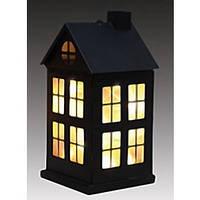 Украшение декоративный металлический Дом черный