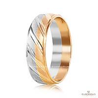 Эдем Золотое обручальное кольцо коа062