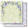 Бумага для скрапбукинга, Счастливый день - Цветочный сад, двусторонняя, 30,5х30,5см, 180г/м