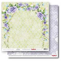 Бумага для скрапбукинга, Счастливый день - Цветочный сад, двусторонняя, 30,5х30,5см, 180г/м, фото 1