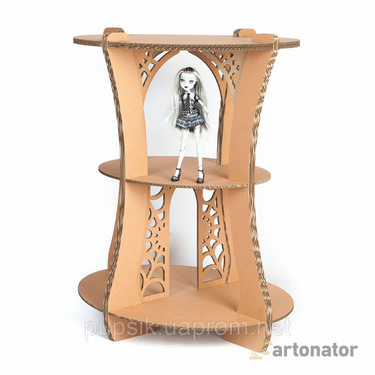 Домик-стол для кукол «Клео» из прочного экокартона, Cartonator