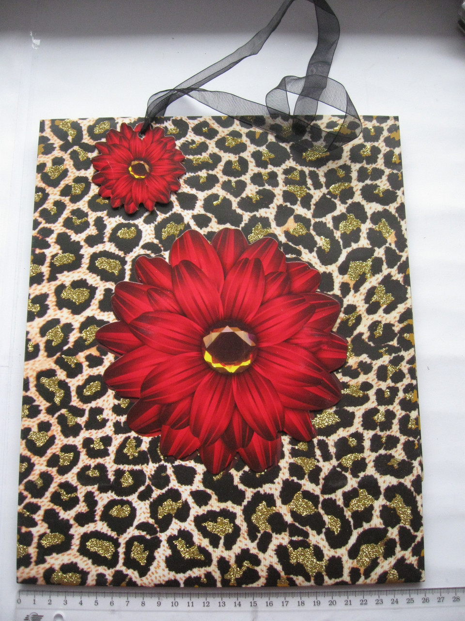 Цветок леопардового цвета