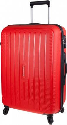 Вместительный дорожный 4-х колесный чемодан 60 л CARLTON Phoenix 239J465;22 красный