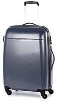 Средний чемодан пластиковый 4-колесный 61 л. Puccini PС-005, 6832/88 кобальт