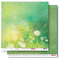 Бумага для скрапбукинга, Этот чудесный мир - Красота жизни, двусторонняя, 30,5х30,5см, 180г/м