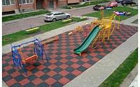 Покрытие для детских площадок 500х500х20 мм, фото 1