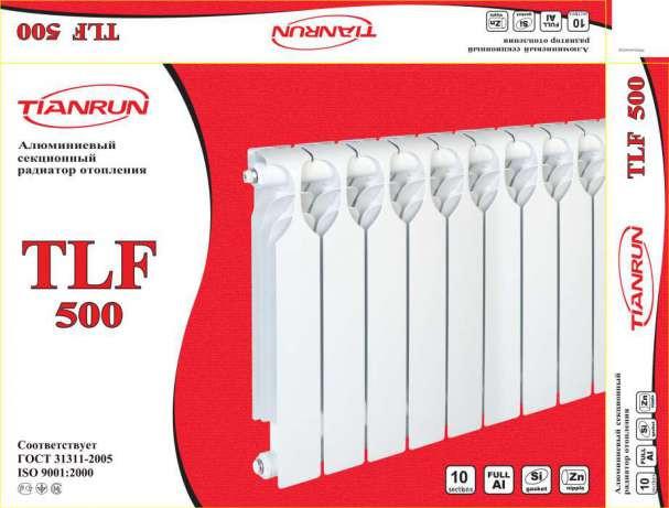Алюминиевые радиаторы TLF Tianrun