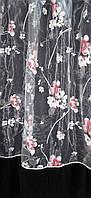 Тюль органза печать Сакура, фото 1
