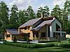 3D визуализация фасада домов