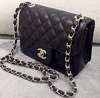 Сумка клатч через плечо Chanel черная