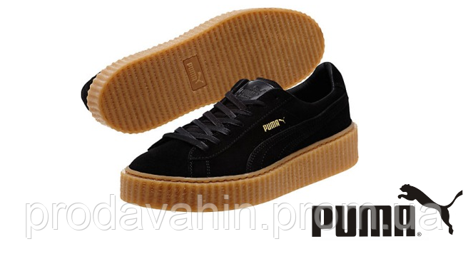 8fe29bc94b6f36 Кроссовки мужские Rihanna x Puma Suede Creeper men's