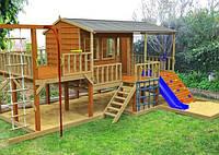 Деревянный домик-площадка заказ №8