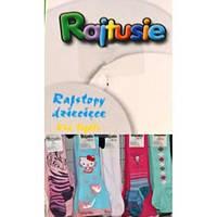 Колготки детские х/б с рисунком Raitusie, color-mix, 80-86см