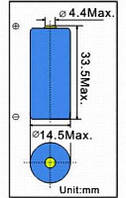 Стандартный элемент питания ER14335 3.6V EEMB