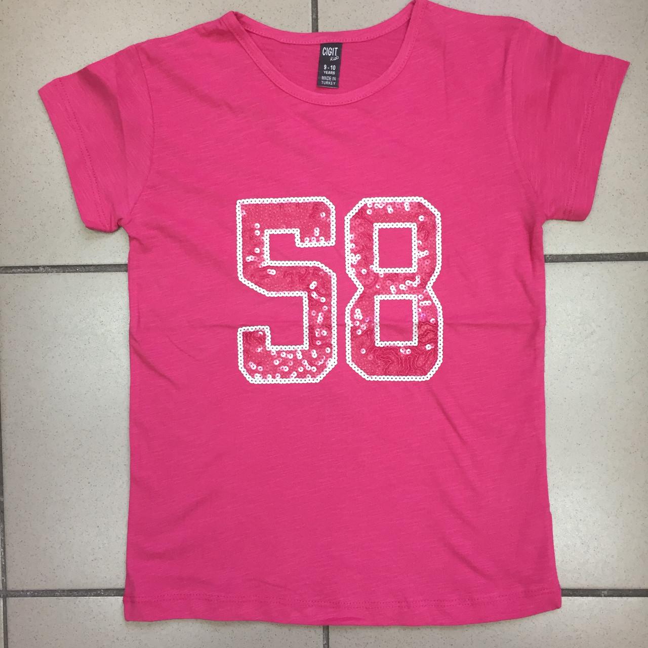 Детская одежда оптом Футболка для девочек-подростков оптом р.9-12 лет