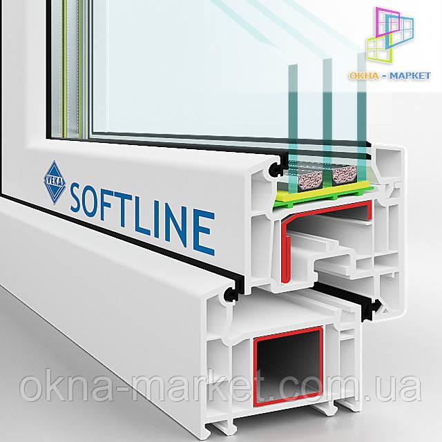 Окна Veka Softline недорого (098) 777-31-49