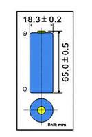 Аккумулятор литий-ионный LIR18650 EEMB