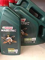 Моторное масло Castrol 10w40 Magnatec
