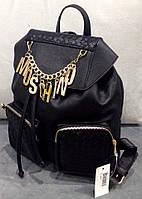 Рюкзак Moschino черный