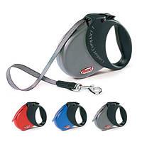 Поводок-рулетка для собак Flexi COMFORT COMPACT (лента) (Флекси) 5м/15 кг