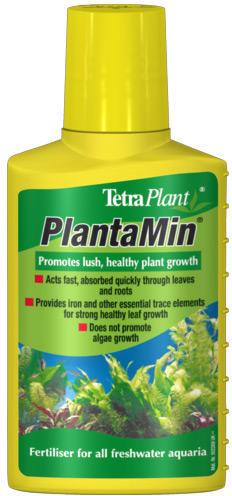 Удобрение для аквариумных растений жидкое Tetra PlantaMin 100 мл