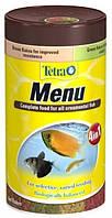 Корм для всех декоративных рыб Tetra Menu, 100 мл