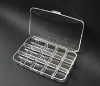 Пластиковый органайзер для рукоделия (15 ячеек)