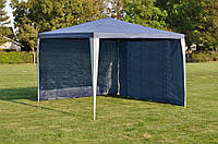 Садовый шатер павильон 3х3 с двумя стенками, фото 1