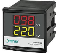 Мультиметр с трансформатором тока - электронный вольтметр + амперметр цифровой однофазный щитовой цена купить