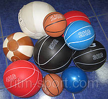 М'яч медичний (медбол) 2 кг, фото 3