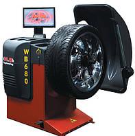 Станок балансировочный, станок для балансировки колес M&B Engineering WB 680
