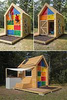 Деревянный домик под заказ №19