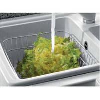 Из нержавеющей стали прямоугольная корзина для сушки посуды и фруктов от производителя TELMA модель SPCESINX