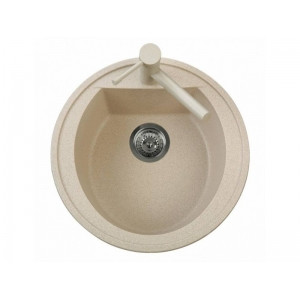 Мойка кухонная TELMA NAIKY NK05110 TG цвет Milk White (28)