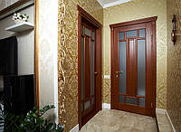 Межкомнатная дверь из массива, под заказ