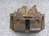 Суппорт передний левый R14 б/у на Citroen C25, Peugeot J5, Fiat Ducato 1986-1994 год