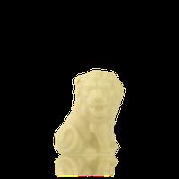 Лев малий з бiлого шоколаду