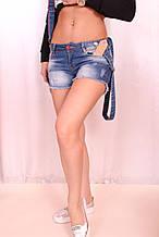 Турецкие джинсовые шорты (Код: 2855)
