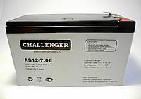 Аккумулятор 12В, 7Ач Challenger AS12-7 0.E