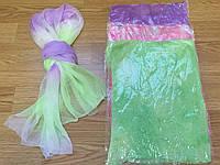 Женские шарфики - шарфы жатка меланж