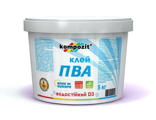 """Клей ПВА D-3 """"Композит"""" 1 кг , фото 2"""