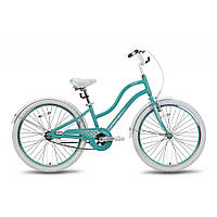 Велосипед 24'' PRIDE SOPHIE бирюзовый глянцевый 2016
