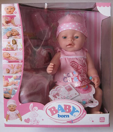 Кукла Пупс (Вaby Born-аналог) арт. BL 009 D, фото 2